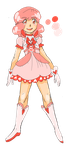 Magical Girl Sweet Heart Emile by galaxytxt