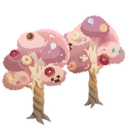Candy Trees by Rosemoji
