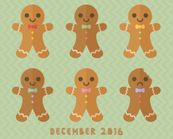 December 2016 Wallpaper (Large) by apparate