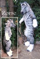 Zebra Horse by LilleahWest