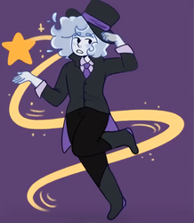 Ghostly Magician by fairyquartz