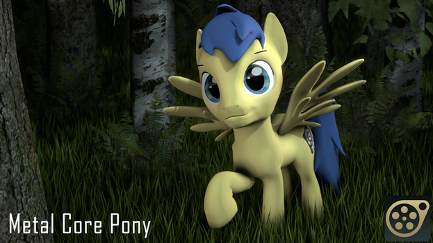 Metal Core Pony [SFM Download] by Warhorse26
