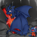 Commission: I'm not suppose to be a DRAGON!!! by OMGProductions