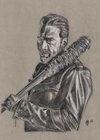 Negan And Lucille Commission by Gossamer1970
