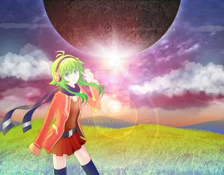 Heavenly Sunset Gumi by Quasura