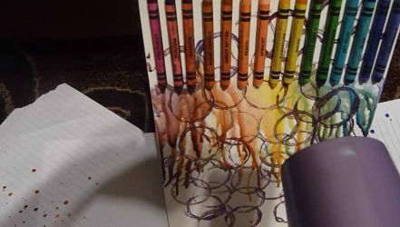 Melted Crayon Art 2 - WIP by USA-FilipinoArtista
