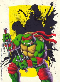 Raphael acrylics paint by CAOZXL