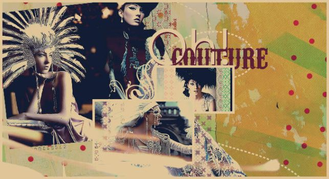 Oh Couture by pinkly