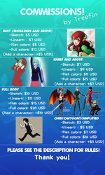 My Commission Info! by xTreefin