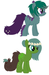 tailmouth ponies closed by HamsterFluf