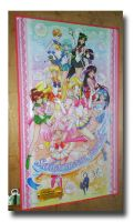 Sailor Moon World Picnic Mat by Magical-Mama