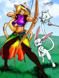 Crystal and Nyssa by Fred Perry Colored by TonyG by Nogistune