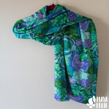 succulent scarf by mayakern