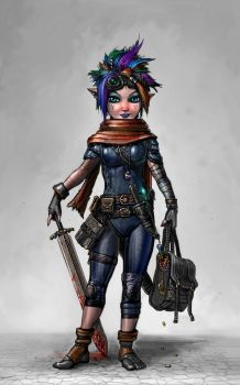 The Crazy-Prepared Gnome by SirTiefling