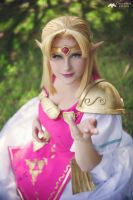 Princess Zelda ~ A Link Between Worlds by LadyLustCosplay