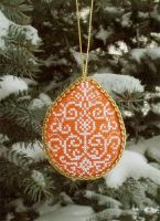 Christmas tree hand made ornament #3 by lovebiser