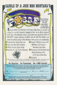 ''Join Moo's Posse'' Ad by CCB-18