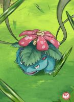#003 Venusaur by TheFresco