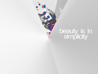 Beauty is in simplicity by Chipsan