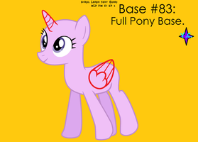 Base No. 83: Full Pony Baseeeeee by YayCelestia0331