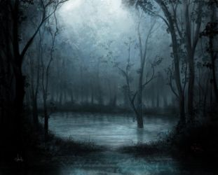 Mystical forest by Azot2018