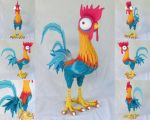 Life-Sized HeiHei from Moana by ToodlesTeam