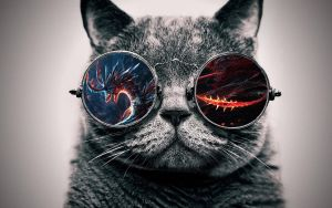 Cool Cat: Dragon by ToValhalla