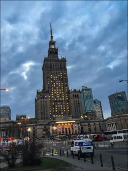 Palace of Culture and Science, Warsaw by apple-yigit-jack