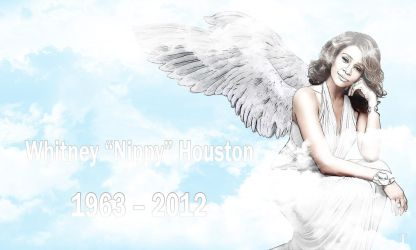 RIP Whitney Houston by Tempest116