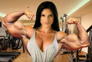 Michelle Lewin Muscle Morph by Turbo99