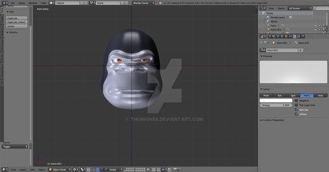 Kong Head WIP by Thorion88
