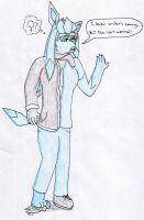 Anthro Glaceon TF/TG by Pokefan-Tf