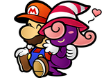 TTYD~ Mario X Vivian by Fawfulthegreat64