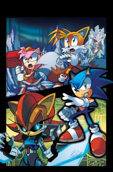 Sonic the Hedgehog 247 Cover by herms85