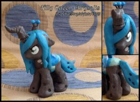 Filly queen Chrysalis custom by Antych