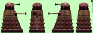 Arcade Red Dalek by Librarian-bot