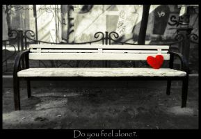Alone heart. by Bunnis