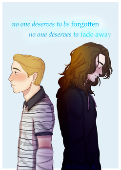 No one deserves to disappear... by downtheartsyhollow