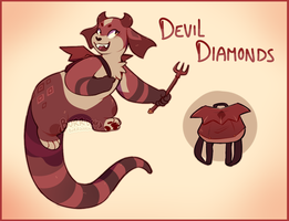 {Bowrooween} Devil Diamonds by burrdog