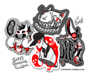 OFF STICKERS by CoeyKuhn