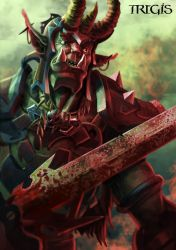 Bloodied orc by Tregis