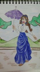 a walk in the park Colored by Bella-Who-1