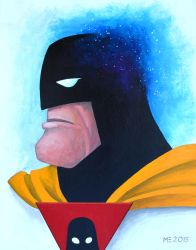 Space Ghost print by ArtistXero