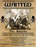 The Smiths Wanted Poster by Jubell