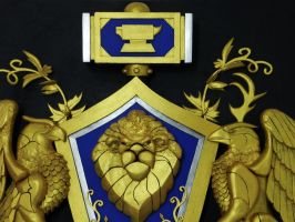 Alliance crest world of warcraft by TheGoblinFactory