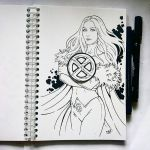 Instaart - Emma Frost (NSFW on Patreon) by Candra