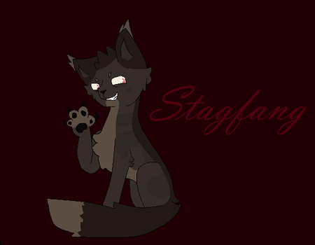 Stagfang-Art Tade.....BlueBoxey by DevianPony02