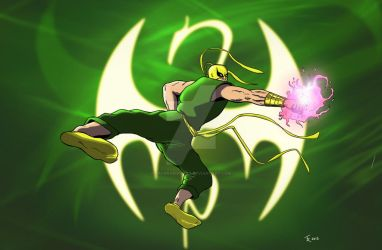 Iron Fist Wallpaper by rafgraphicart