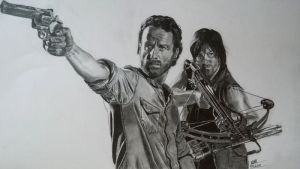 The Walking Dead by Pavliot
