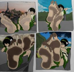 Toph's Photoshoot (By Murati2882) by SonicTemperance